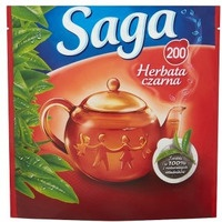 Herbata SAGA czarna 200 TOREBEK