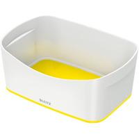 Pojemnik bez pokrywki MyBox, biało-żółty 52571016