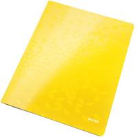 Skoroszyt kartonowy A4 LEITZ WOW żółty metalik 30010016