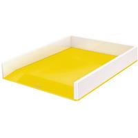 Półka na dokumenty LEITZ WOW dwukolorowa, żółta 53611016