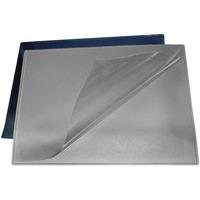 Podkładka na biurko z folią 49x65cm PVC czarna 100551498 BANTEX