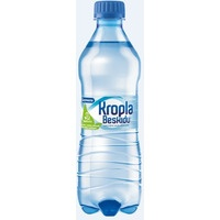Woda KROPLA BESKIDU 0.5L (12szt) gazowana butelka PET