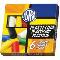 Plastelina 6 kolorów ASTRA 83811905