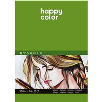 Blok do rysunku Art. 300g. A4 15ark. HA 3730 2030-A15 Happy Color
