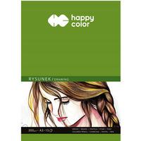 Blok do rysunku Art. 300g. A3 15ark. HA 3730 3040-A15 Happy Color
