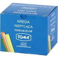 Kreda szkolna kolor 100szt. 80201 TOMA