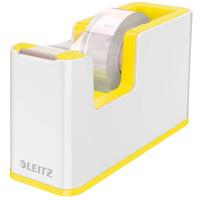 Podajnik taśmy klejącej Leitz WOW, żółty 53641016
