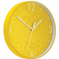 Zegar Leitz WOW, żółty 90150016