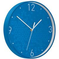 Zegar Leitz WOW, niebieski 90150036