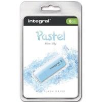 Pamięć USB INTEGRAL 8GB 2.0 Pastel Blue Sky INFD8GBPASBLS
