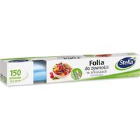 Folia do żywności w arkuszach 30x30cm (150 arkuszy) oddychająca STELLA F-6615