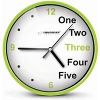 Zegar ścienny PRAGUE zielony EHC014G ESPERANZA