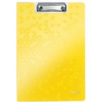 Deska z klipem i okładką Leitz WOW żółta 41990016