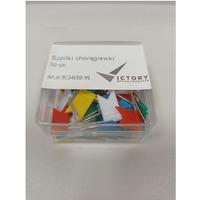 Szpilki chorągiewki kolorowe (50szt.) 9C34650-99 VICTORY