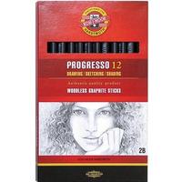 Ołówek PROGRESSO 2B (12)*8911