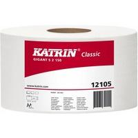 Papier toaletowy 2w biały GIGANT S 95x125m(12)431466/121005/566632 KATRIN