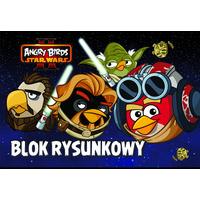 Blok rysunkowy A4 20k ANGRY BIRDS STAR WARS UNIPAP 0411