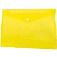 Koperta PP na zatrzask A4 żółta BT611-Y