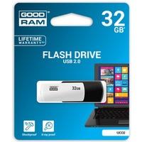Pamięć USB GOODRAM 32GB UCO2 czarno-biały USB 2.0 UCO2-0320KWR11