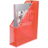 Pojemnik na czasopisma DATURA/NATUNA siatka czerwony 350x72x320mm