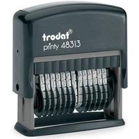 Numerator PRINTY 48313 13/3,8mm TRODAT SAMOTUSZUJĄCY