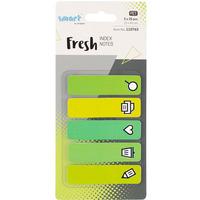 Zakładki indeksujące Smart pet fresh 12x45mm 5x25szt OFFICE 110763